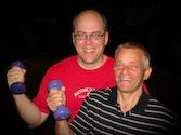 Wolfgang und Udo - die zwei Übungsleiter von Man-Power